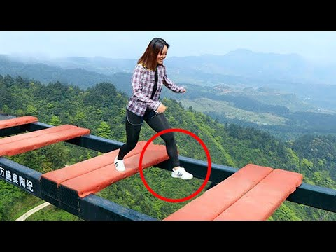 LUCKIEST PEOPLE CAUGHT ON CAMERA!