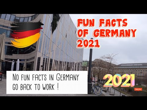 Fun Facts of Germany - Life of an Expat in Düsseldorf (2021)