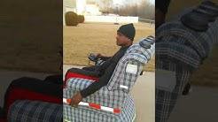 La-z-boy on wheels
