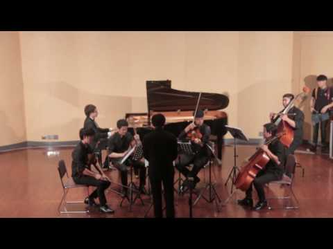 W.A.Mozart: Piano Concerto No 23 in A major, K.488 by Nuttawut Sae-Daan and String Quintet