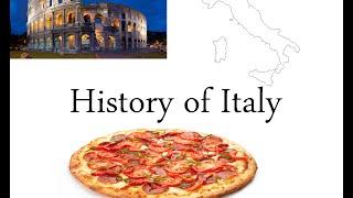 History of the Italian Peninsula | 500 -  2015 |