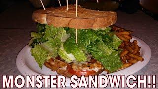 MONSTER Chicken Sandwich Challenge in MONTREAL!!