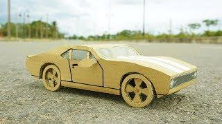 DIY - How to Make Plymounth GTX Car from Cardboard