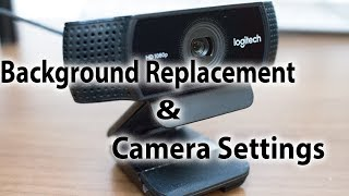 Logitech C922 - Tips and Tricks (Background Removal with OBS )