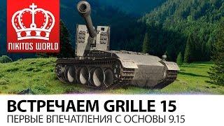 Встречаем Grille 15 | Первые впечатления с основы 9.15
