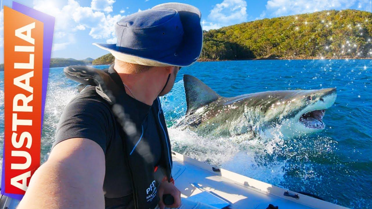 Путешествие на надувной лодке в Австралии