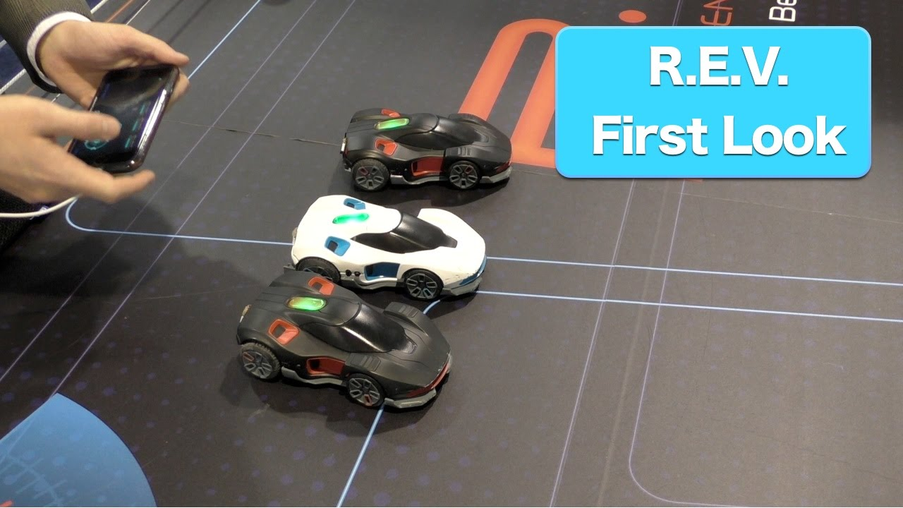 REV By WowWee, Robotic Enhanced Vehicles, First Look