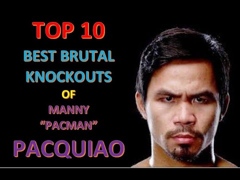 Manny Pacquiao Top 10 Best Knockouts