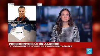 Présidentielle en Algérie : La jeunesse dans la rue à Alger