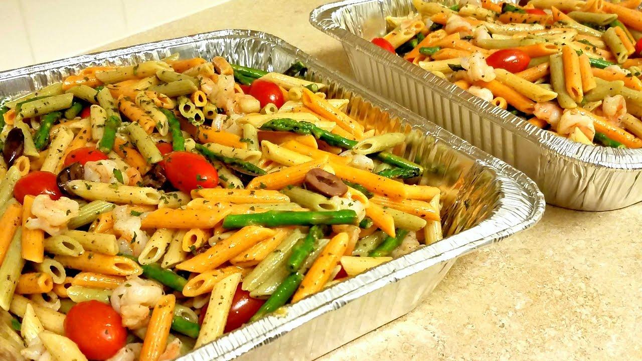 Easy Shrimp Pasta Salad Recipe Party Pasta Salad Recipe