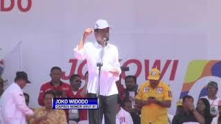 Jokowi Yakin Menang Minimal 80 Persen di NTT