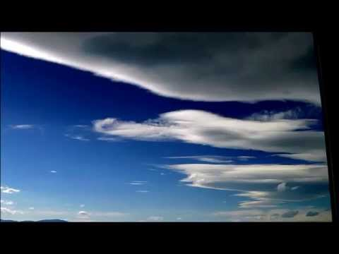Standing Lenticular Clouds time lapse 6/11/15