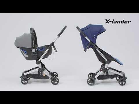 Детская прогулочная коляска X-Lander X-Fly [190510]. Видео №1