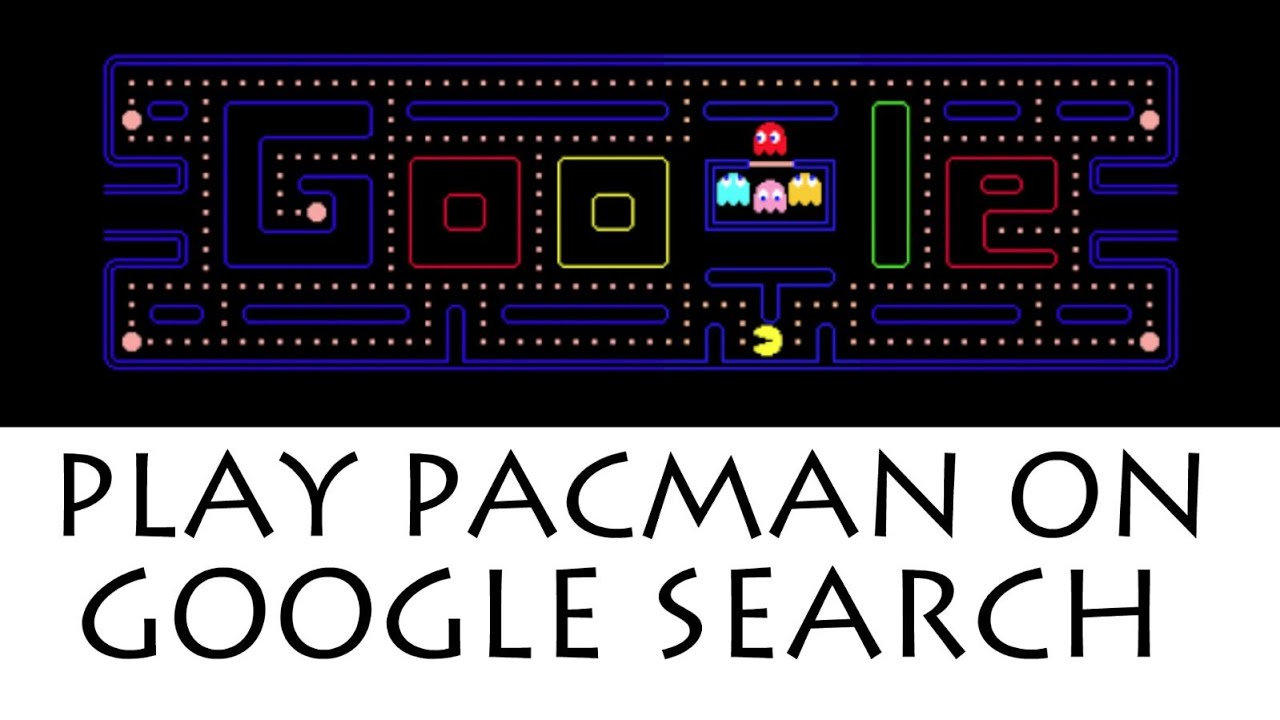 Play Google Pacman Game On Google Search Old Doodle