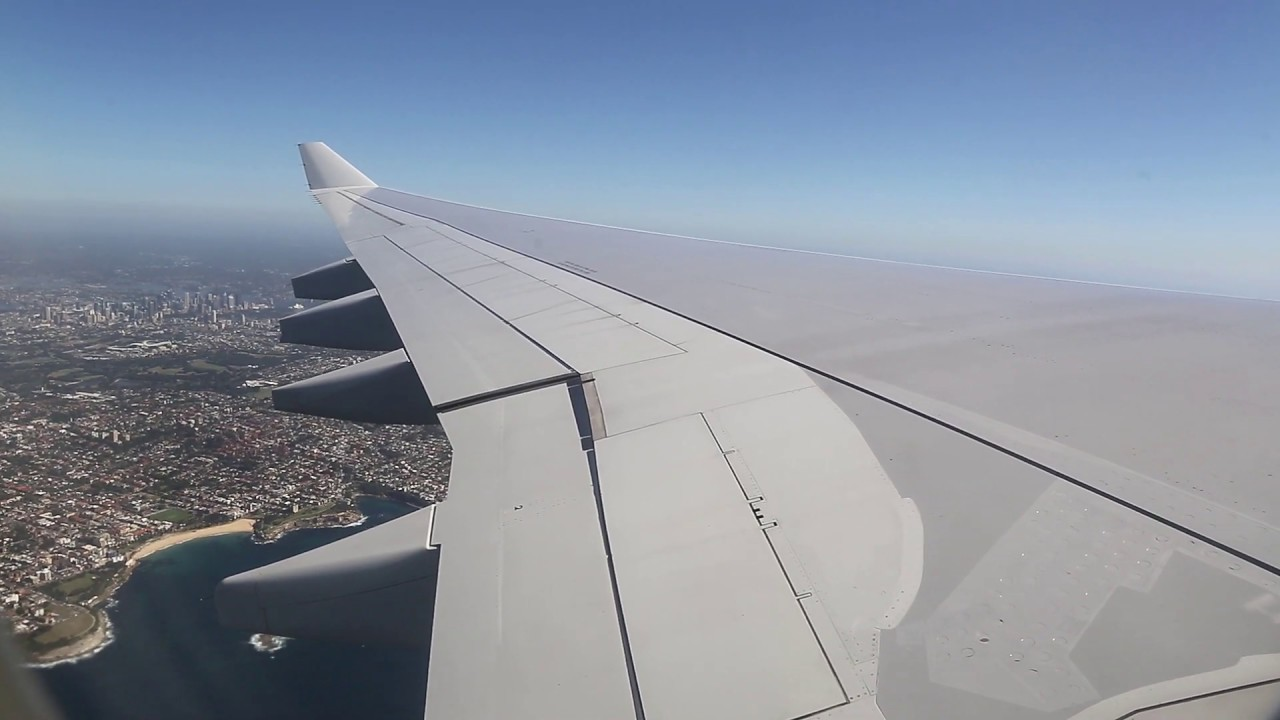 Download Qantas Airbus A330 Takeoff - Sydney (QF 421)