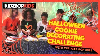 Halloween Cookie Decorating Challenge with The KIDZ BOP Kids