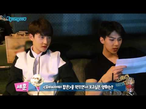 [ENG SUB] Baskin Robbins - EXO-K D.O. and Sehun Self Camera