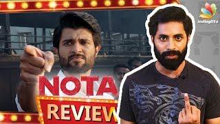 NOTA Tamil Movie Review   Vijay Devarakonda,  Director Anand Shankar