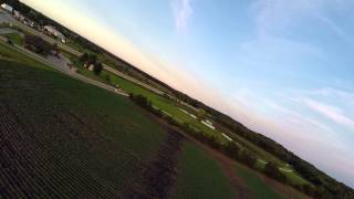 "Maiden flight of Crash Test Hobby Deep Reaper XL/Gladiator XL 61"" wing"