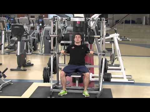 Hammer Strength Seated Chest Press Tutorial