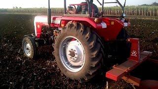 Massey Ferguson 241 42 hp Tractor with Bund Maker