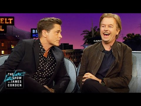 Chris Farley & David Spade Brawled Over Rob Lowe