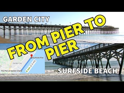 How Things Look South Of MYRTLE BEACH, SC! Here's A Pier To Pier POV | GARDEN CITY To SURFSIDE BEACH