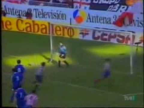 30 Goles del mexicano Luis Garcia en España 1992-1994