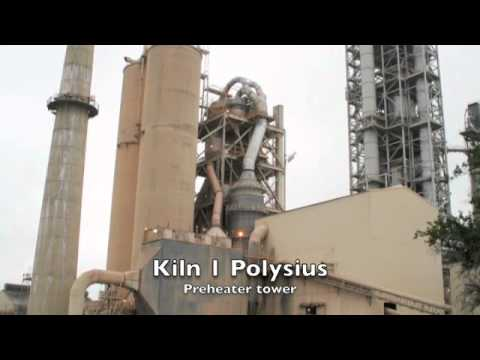 TXI Hunter Cement Plant Tour