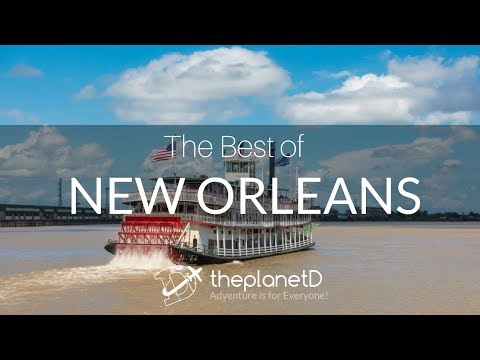 7 Things to do in New Orleans, Louisiana | Travel Vlog | ThePlanetD