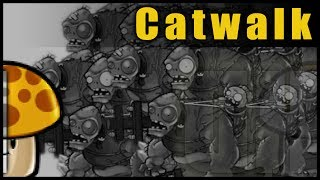Plants Vs. Zombies - Catwalk ( 11 Cob Cannon Strategy )