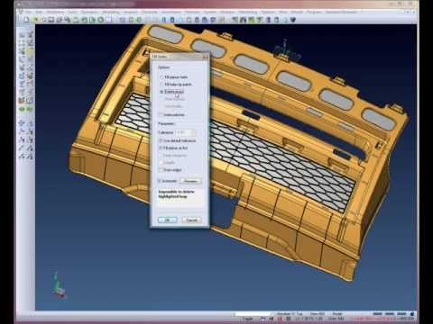 Automotive Core & Cavity creation - Step 3