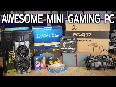 Mini ITX Gaming PC Build TIME LAPSE!