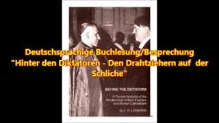 Teaser für eine  neue Buchlesung: Hinter den Diktatoren -  Den Drahtziehern auf der Schliche