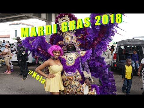 New Orleans Mardi Gras 2018... Finding the Indians!