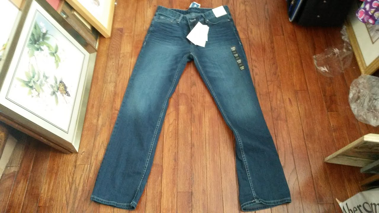 9242c2be358 Calvin Klein Authentic Blue Straight Fit Jeans Review - YouTube