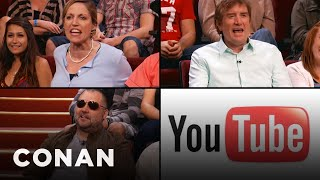 YouTube Commenters Invade Conan
