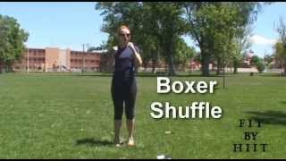 Fit By Hiit Warm Up Exercise-boxer Shuffle