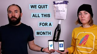 We Quit Sugar, Alcohol, and Social Media for a Month, Here's What Happened