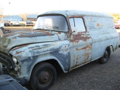 1957 chevy panel van