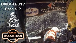 Dakar stage 2; mud and dust for Coronel in special 2, Dakar 2017