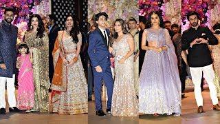 Akash Ambani Engagement Party - Aishwarya Rai, Gauri Khan, Ranbir Kapoor, Shraddha Kapoor,