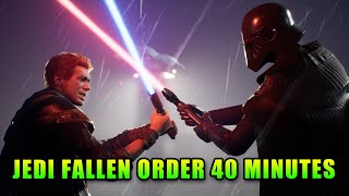 Star Wars Jedi Fallen Order First Mission - 40 Minutes Of Gameplay