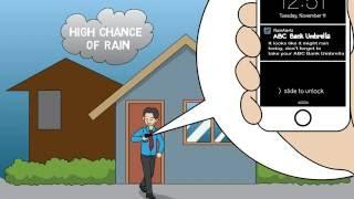 What's Trending? RainAlertz - Our umbrellas tell you when it's going to rain!