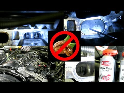 Intake Valve Cleaning Without Any Special Tools N54 N55 DIY