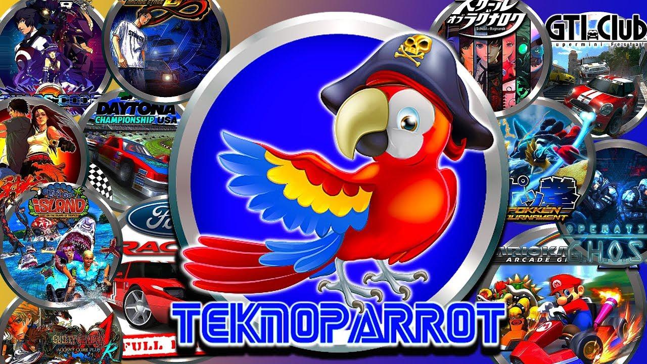 HYPERSPIN VIDEO MANUAL: Teknoparrot (Sega Ring, Europa-R, Taito Type X,  etc )