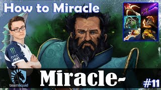 Miracle - Kunkka MID | How to Miracle | Dota 2 Pro MMR Gameplay #11