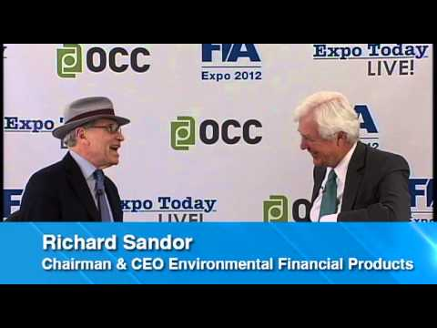 Richard Sandor, Chairman & CEO, Environmental Financial Products