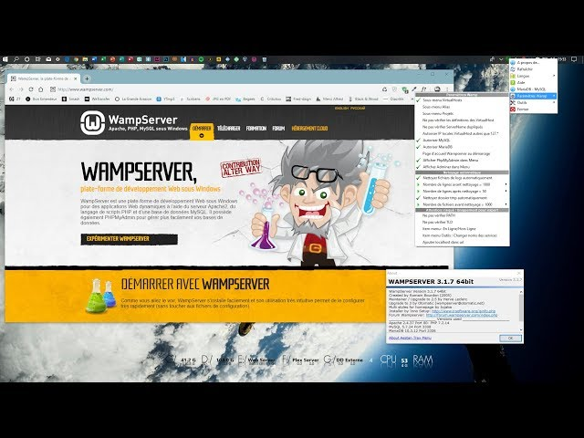 Installation de WordPress en local avec WAMPserver