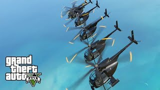"GTA 5 - Apocalypse Now ""Ride of the Valkyries"" Helicopter Intro (BEACH RAID)"